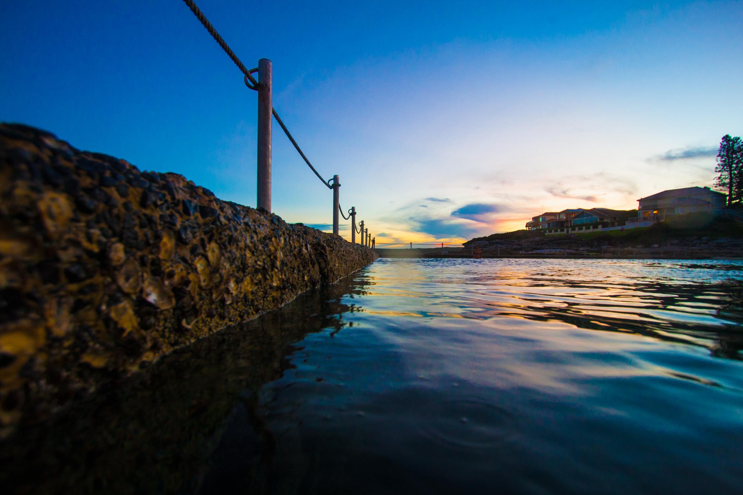 Sunset time Cronulla
